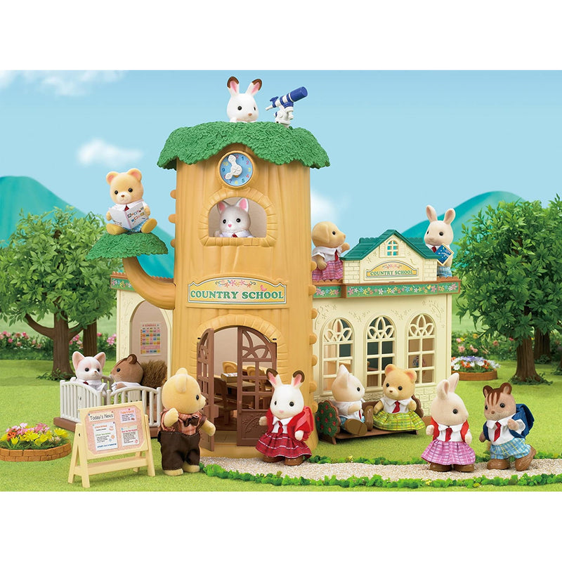 Sylvanian Families  Country Tree School display
