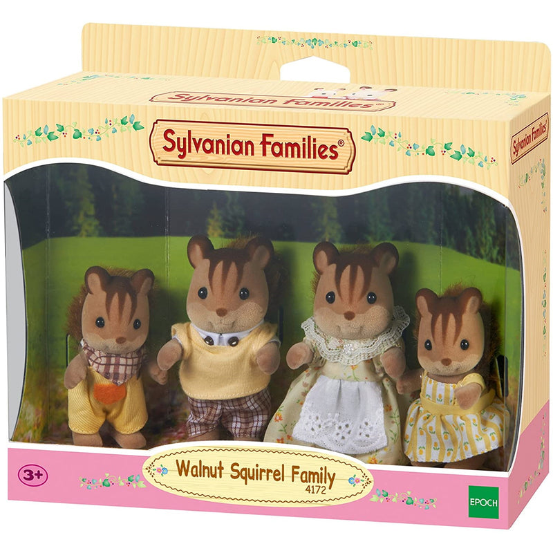 Sylvanian Families  Walnut Squirrel Family packaging