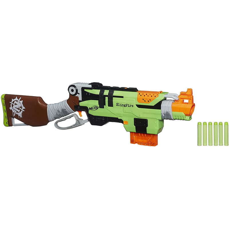 Nerf Zombie Strike SlingFire with darts