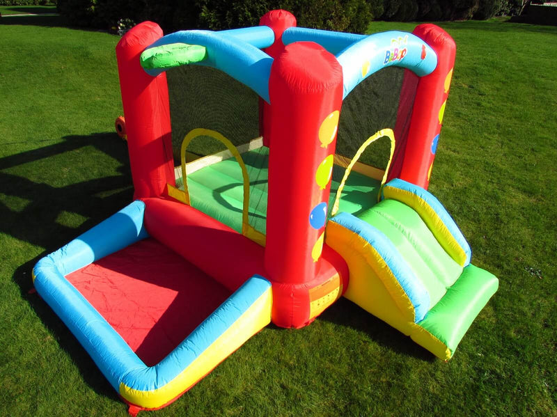 Bebop Inflatable Bouncy Castle and Ball Pit