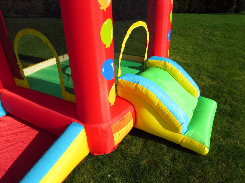 Kids Inflatable Balloon Bouncy Castle Slide