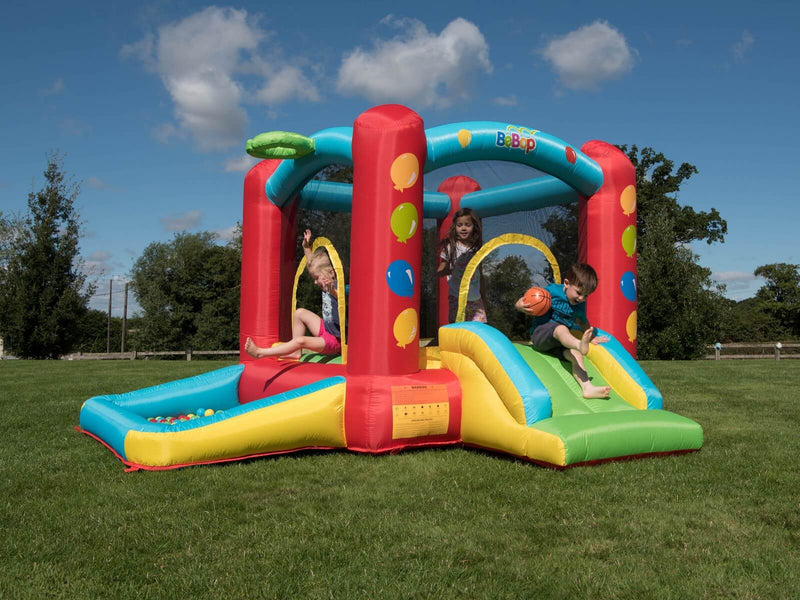 BeBop Balloon Bouncy Castle With Kids
