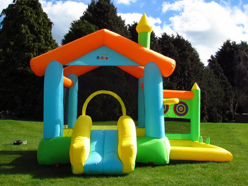 bebop bounce house entrance slide