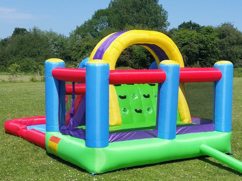 Bebop Total Wipeout Inflatable Enclosed Bounce Area