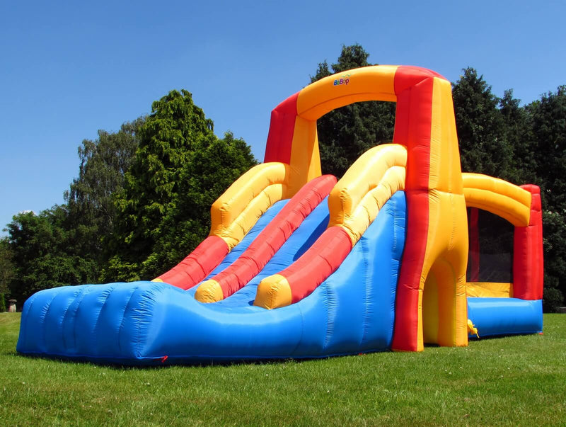 Bebop Kamikaze Double Slide And Bouncy Castle Main