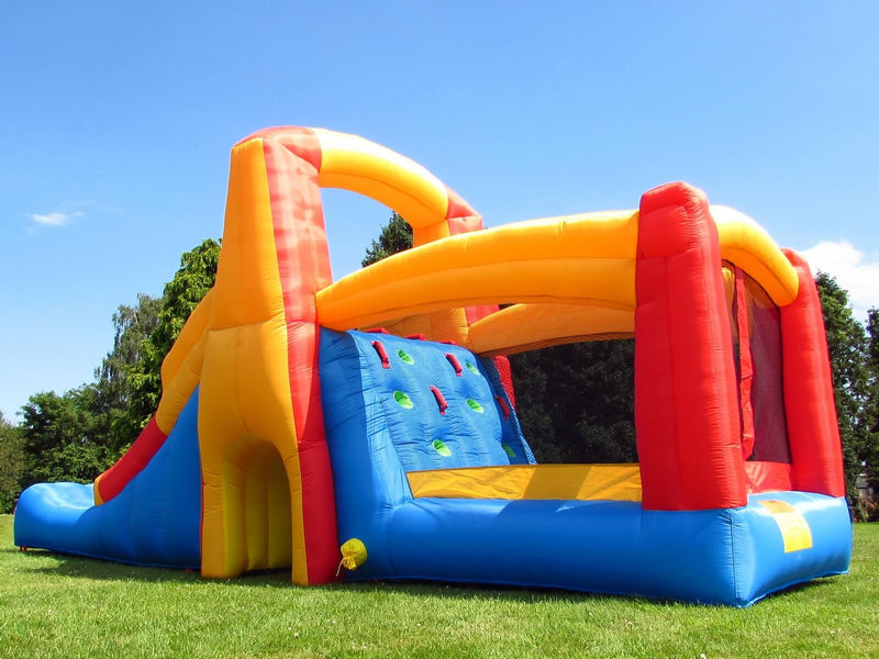 Bebop Kamikaze Bouncy Castle Climb Wall