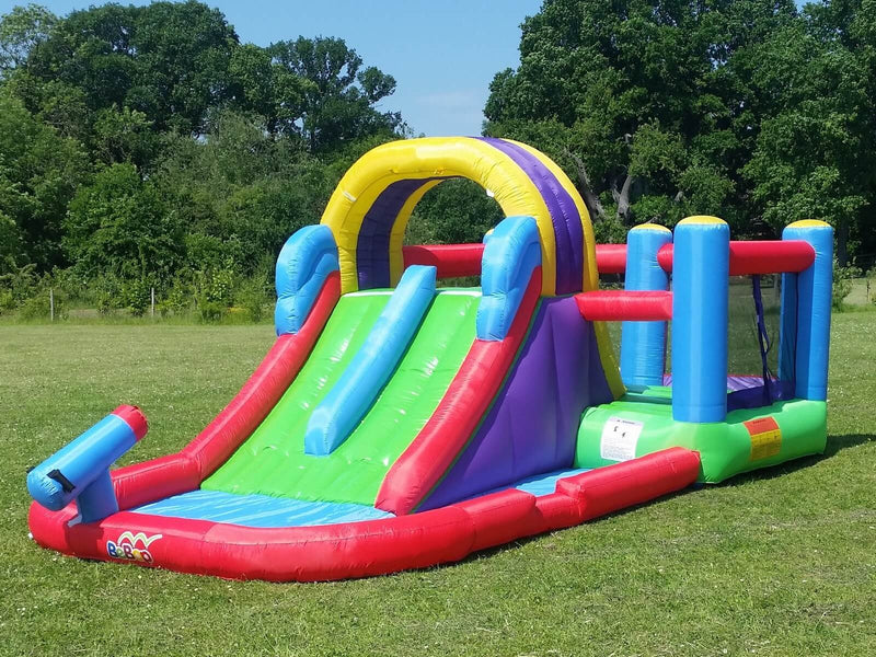 Bebop Total Wipeout Inflatable Water Slide and Bouncy Castle