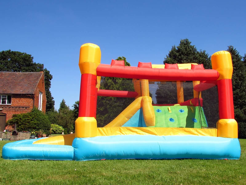 bebop fortress side bouncy castle