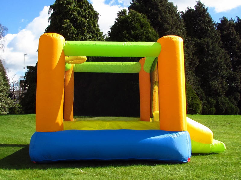 Grasshopper Inflatable Bouncy Castle Side
