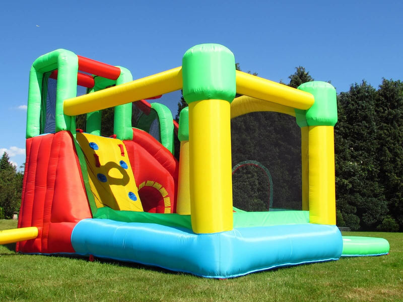 BeBop kids 8 in 1 bouncy castle and electric fan