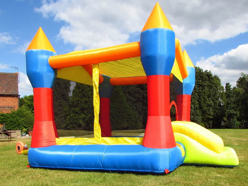 Bebop Inflatable Castle With Bouncy Exit Slide