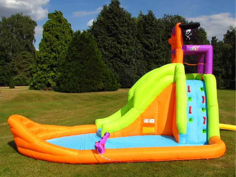 BeBop Pirate Water Slide With Cannon