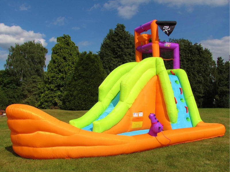 BeBop Pirate Boat Inflatable Water Slide