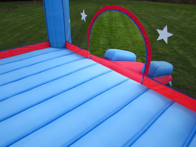Bebop Star Palace Bouncing Area holds up to 5 kids