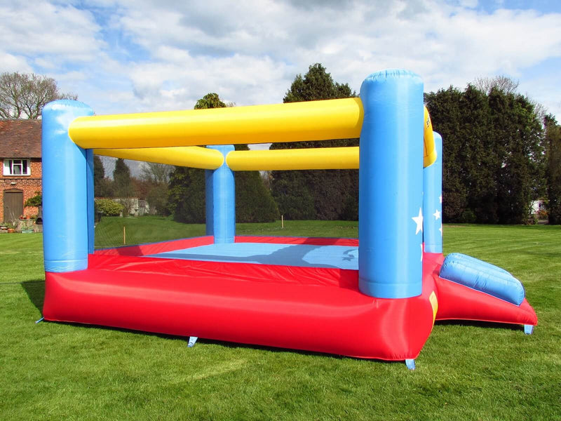 Bebop Star Palace Inflatable Garden Bouncy Castle