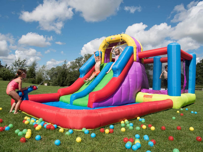 BeBop Total Wipeout Bouncy Castle and Water Slide