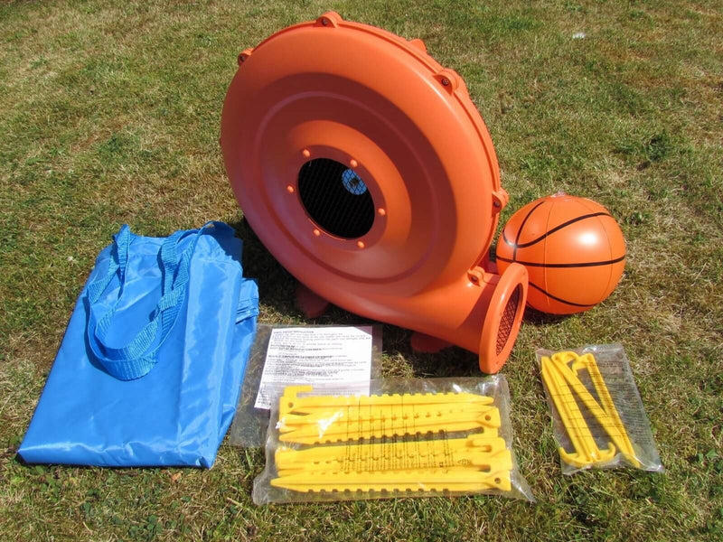 Accessories Supplied with the BeBop Turret Kids Bouncy Castle
