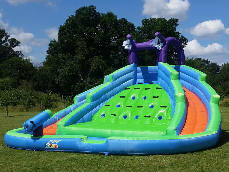 Bebop Twin Peaks Inflatable Water Slide