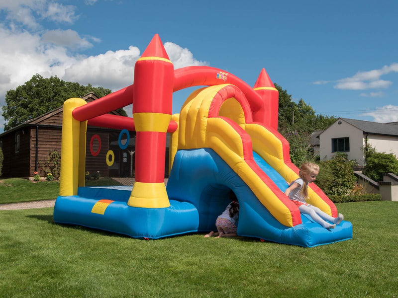 BeBop Ultimate Combo Kids Bouncy Castle and Slide