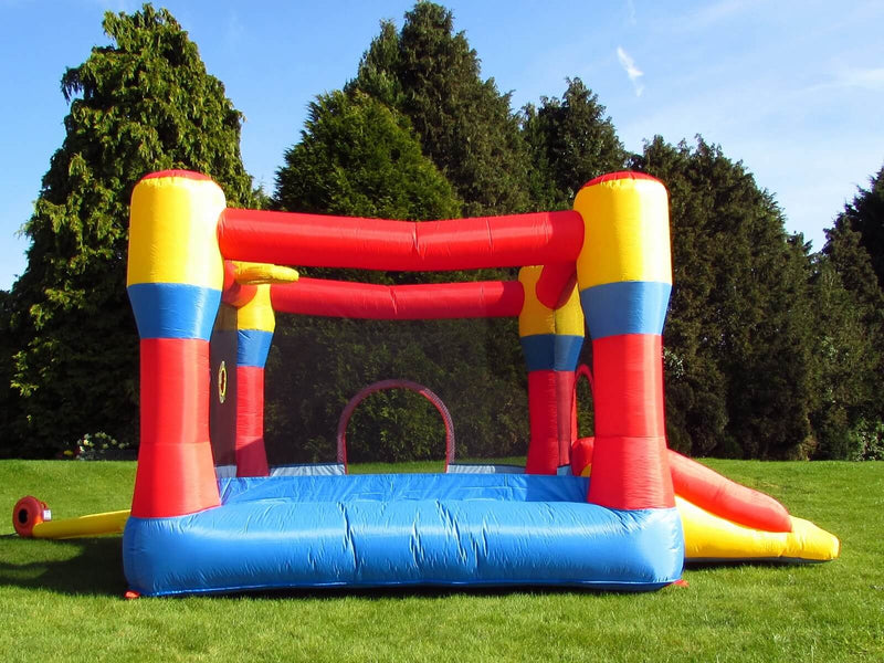 Kids Bouncy Castle and Electric Fan