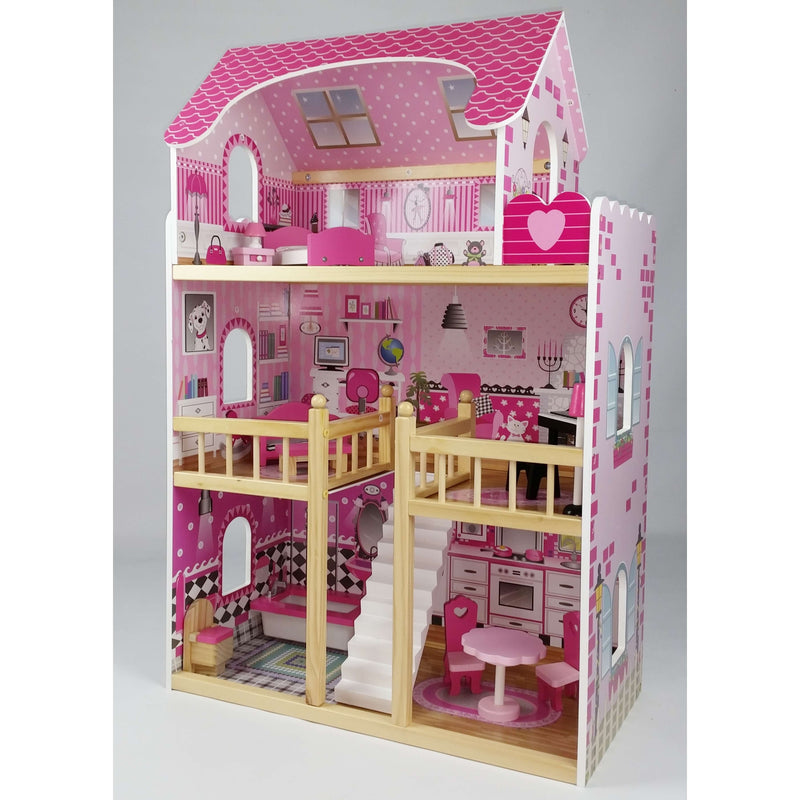 Butternut Kids 3 Storey Dolls House