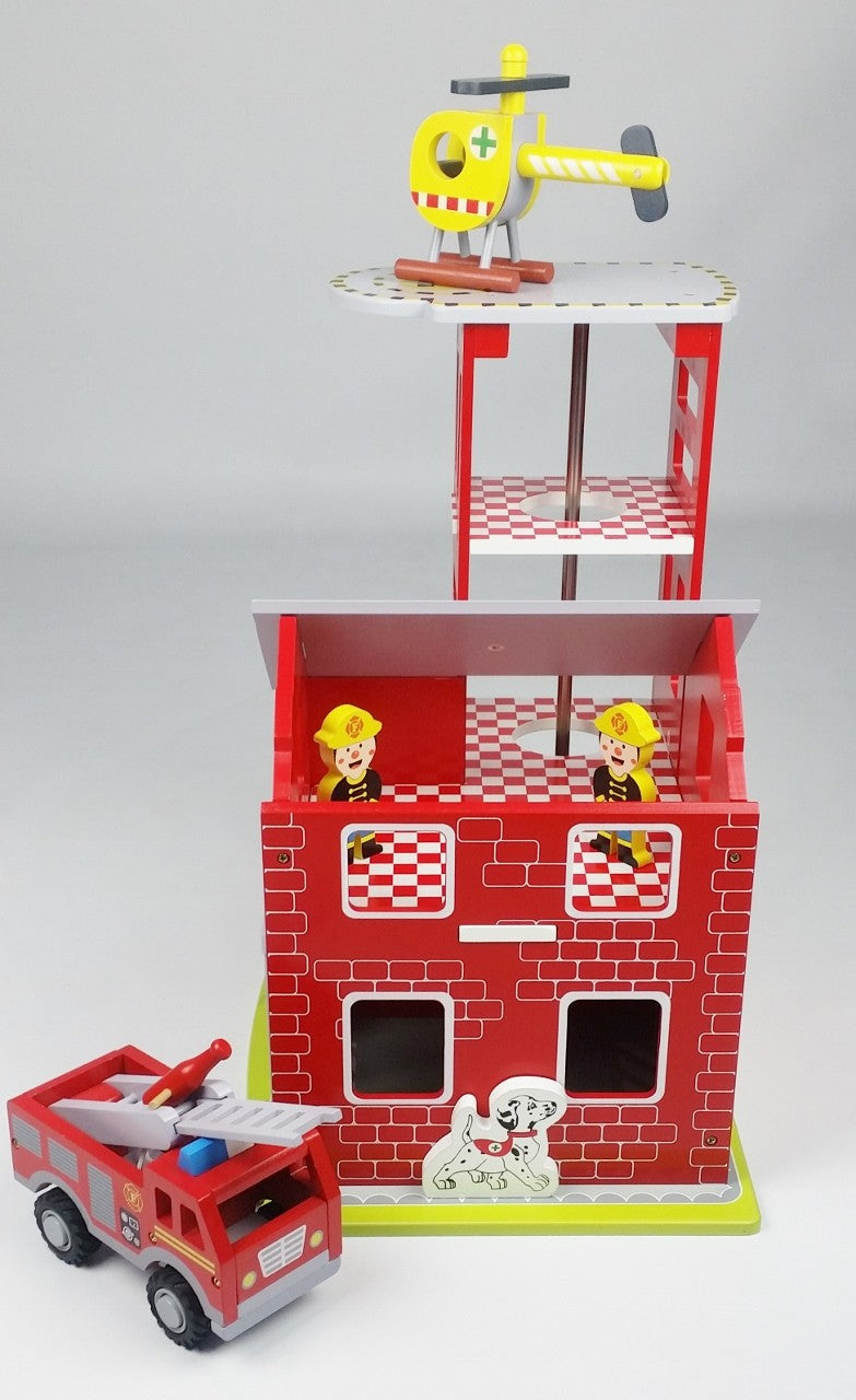 Butternut Fire Station For Kids