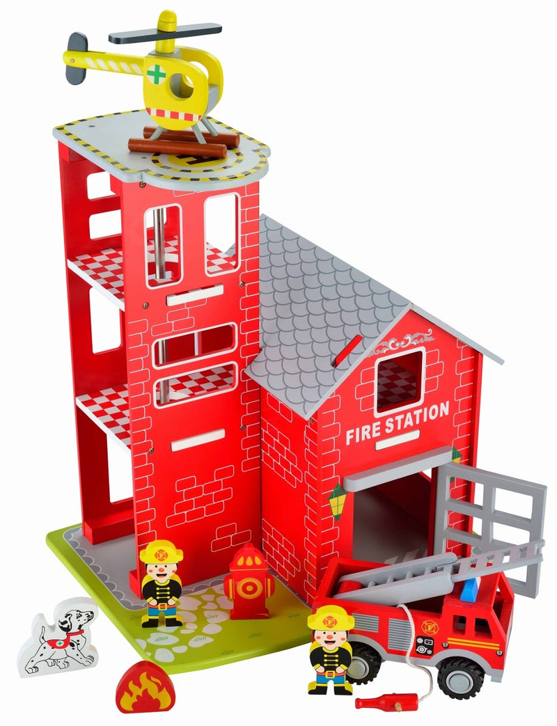 Butternut Fire Station Rescue Playset