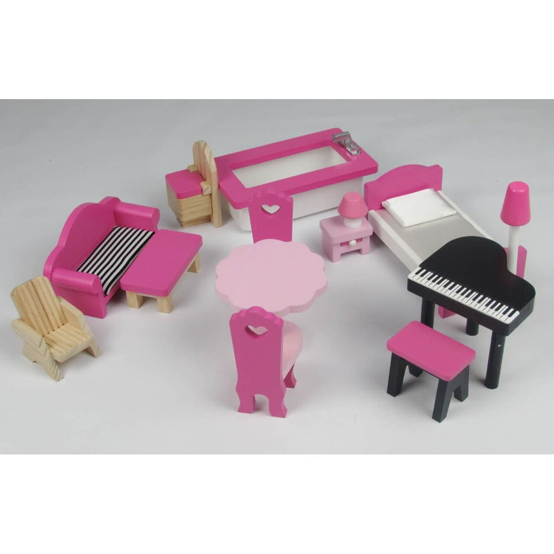 Butternut Dolls House Included Furniture