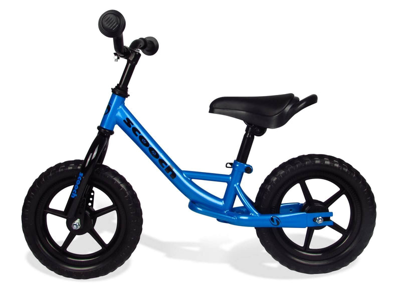 Scooch Kids Blue and Black Balance Bike