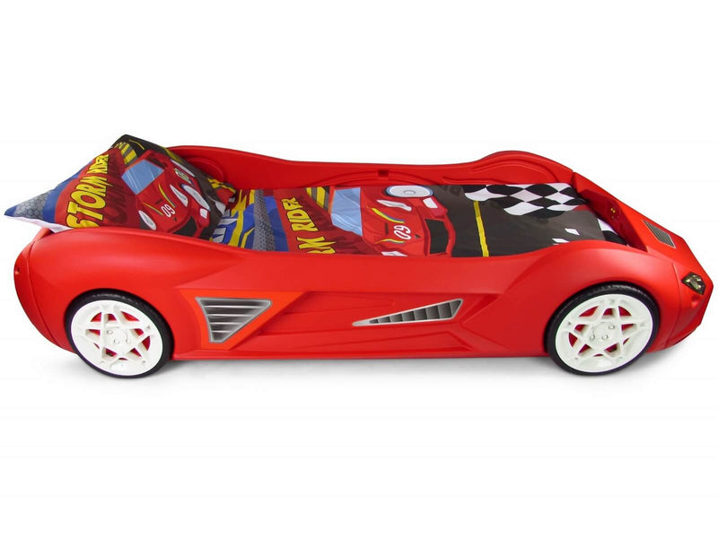 Storm Racing Car Childs Bed With Realistic Styling
