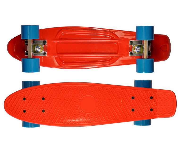 Storm Retro Skateboard Red and Blue