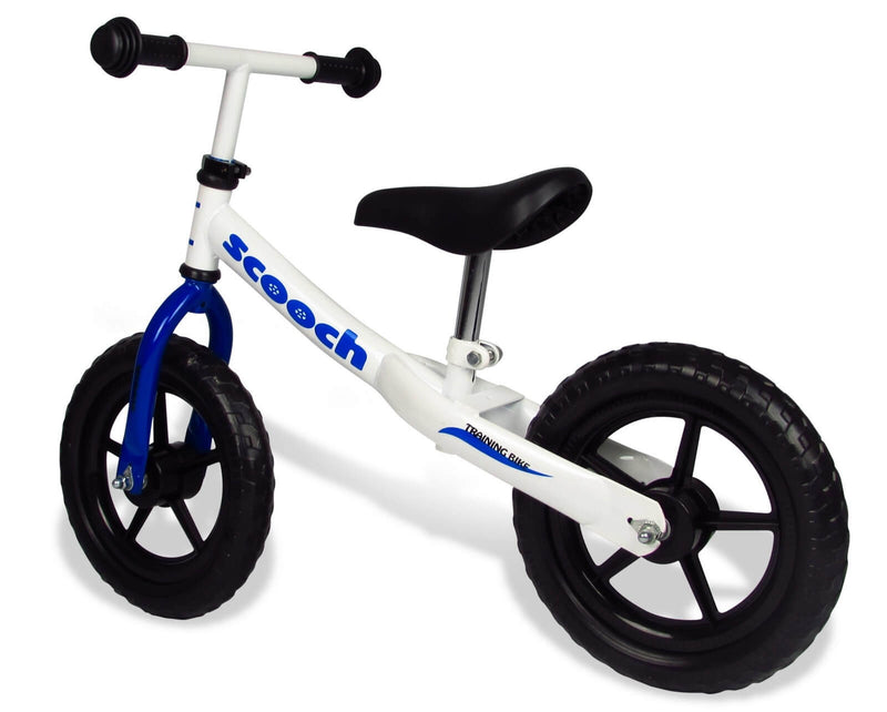 Kids Scooch Balance Bike Blue