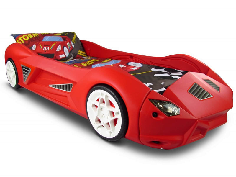 Storm Kids Car Bed With Realistic Engine Sounds