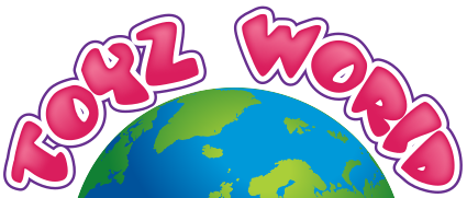 toyzworld white logo