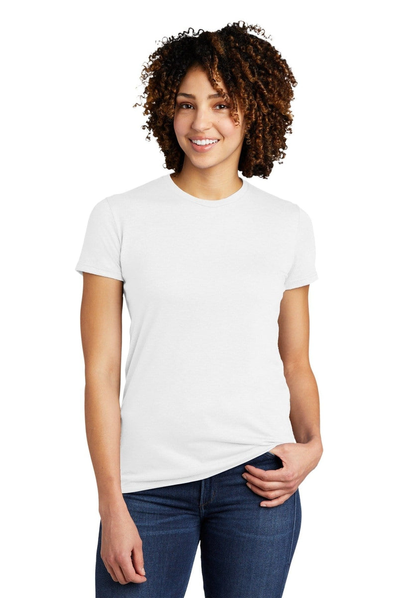 Allmade ® Women's Tri-Blend Tee AL2008-Ladies-wholesale apparel