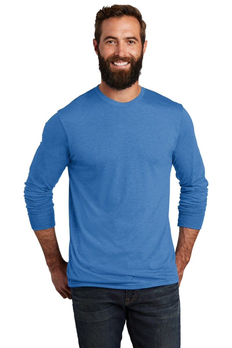 Allmade ® Unisex Tri-Blend Long Sleeve Tee AL6004-T-Shirts-wholesale apparel