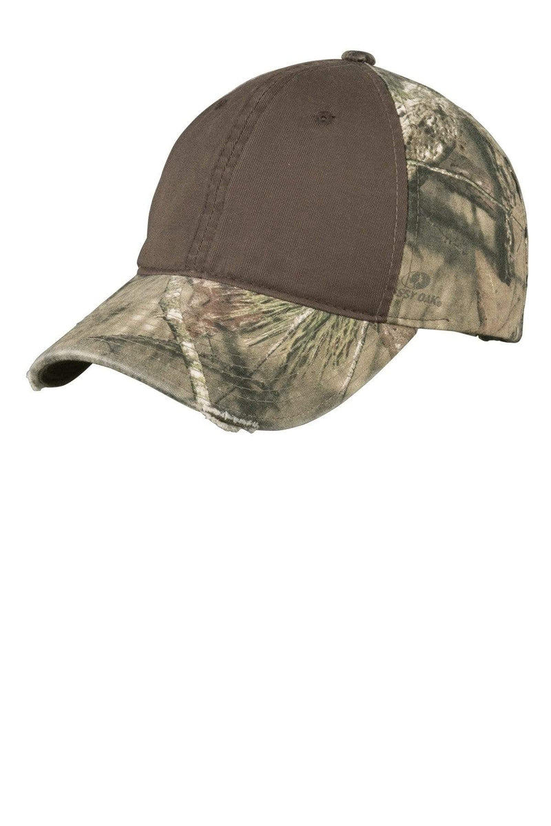 Port Authority® Camo Cap with Contrast Front Panel. C807-Caps-Bulkthreads.com, Wholesale T-Shirts and Tanks