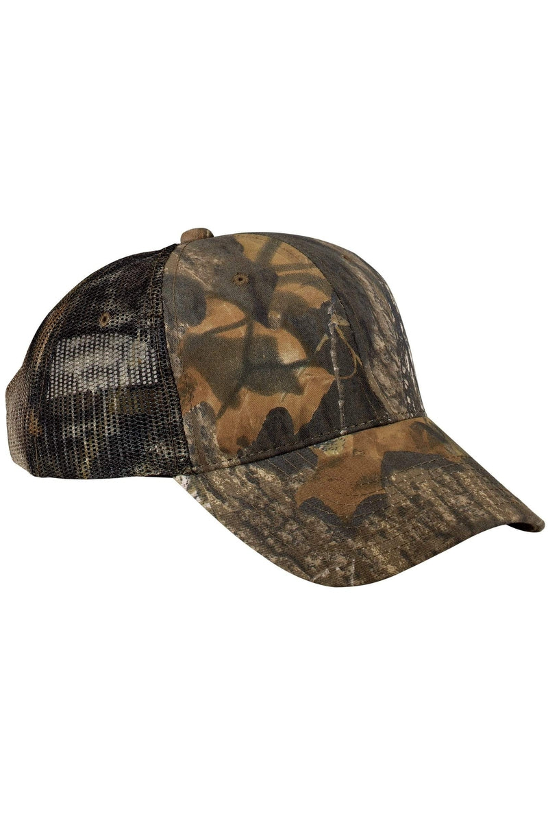 Port Authority® Pro Camouflage Series Cap with Mesh Back. C869-Caps-Bulkthreads.com, Wholesale T-Shirts and Tanks