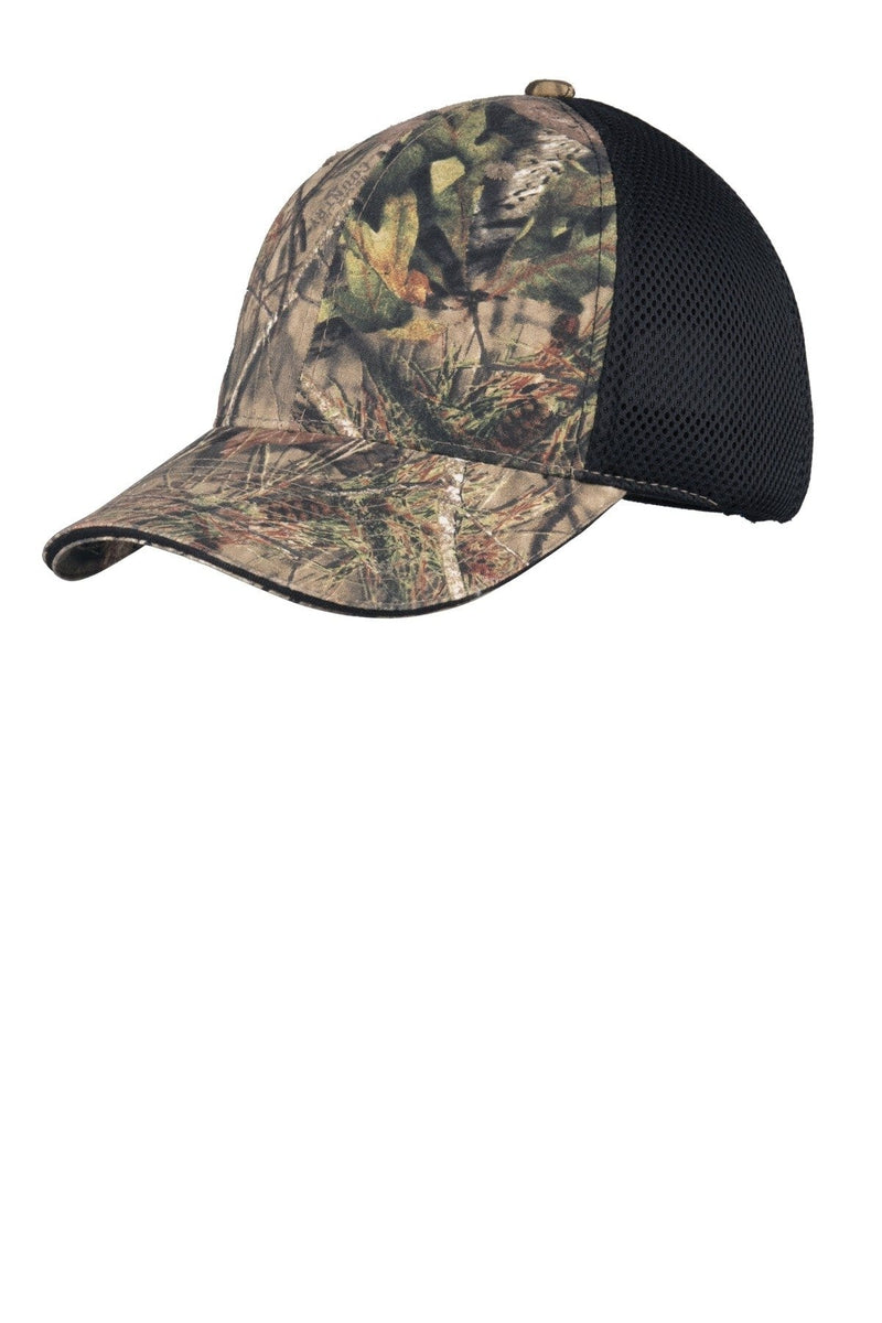 Port Authority® Camouflage Cap with Air Mesh Back. C912-Caps-Bulkthreads.com, Wholesale T-Shirts and Tanks