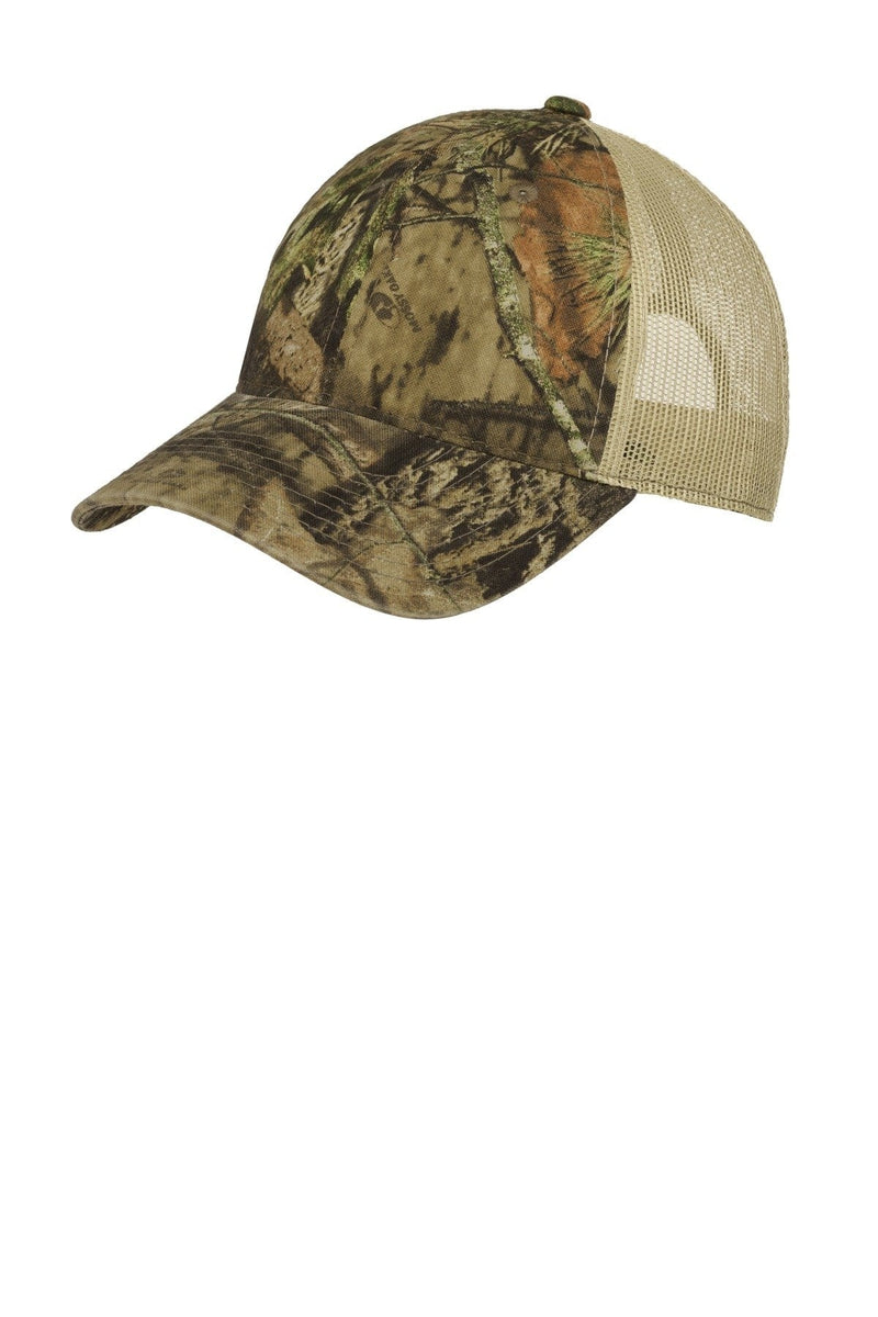 Port Authority® Unstructured Camouflage Mesh Back Cap. C929-Caps-Bulkthreads.com, Wholesale T-Shirts and Tanks