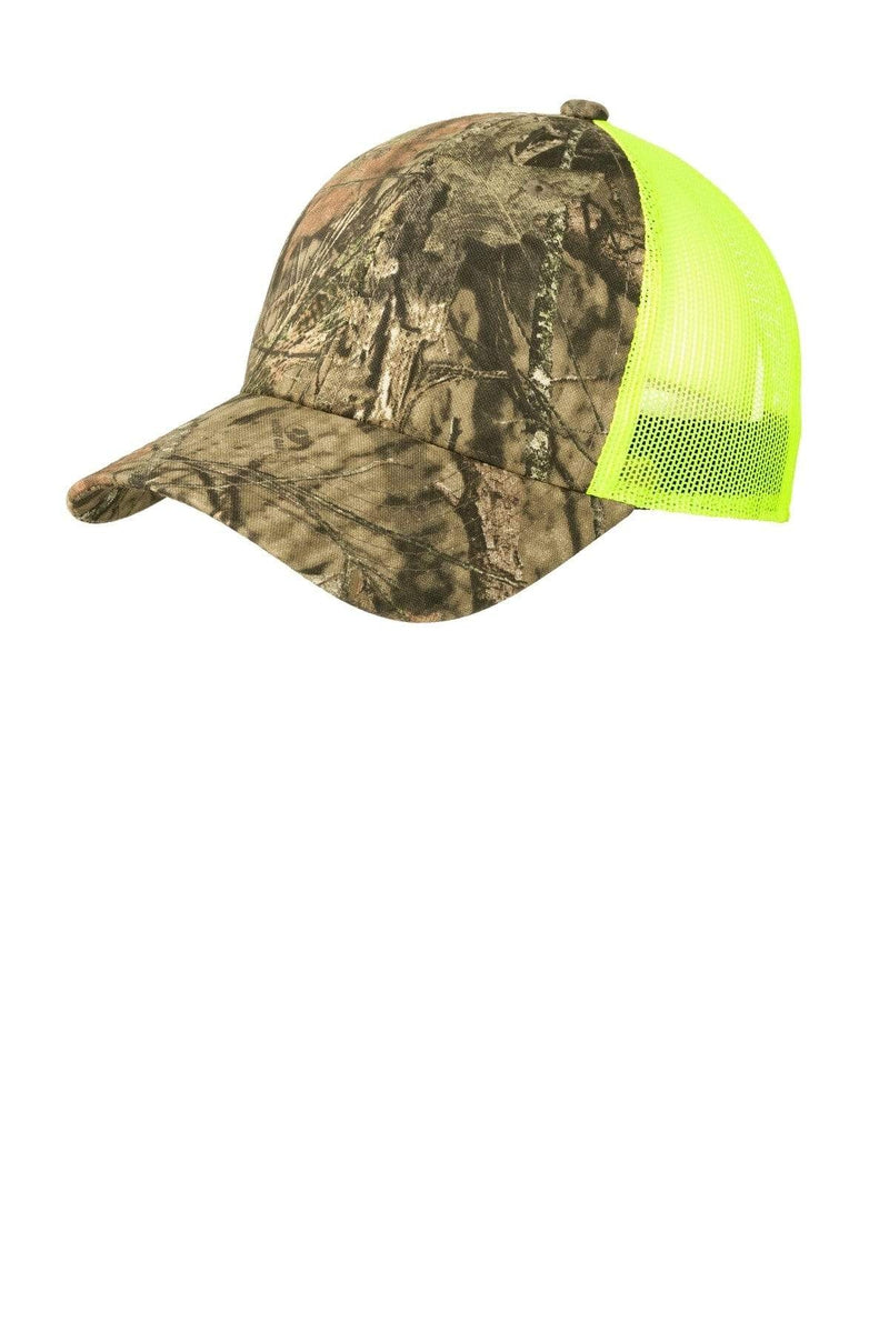 Port Authority® Structured Camouflage Mesh Back Cap. C930-Caps-Bulkthreads.com, Wholesale T-Shirts and Tanks