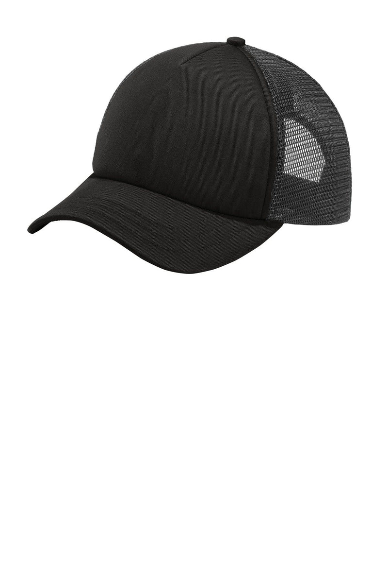 Port Authority ® 5-Panel Twill Foam Trucker Cap. C936-Caps-Bulkthreads.com, Wholesale T-Shirts and Tanks