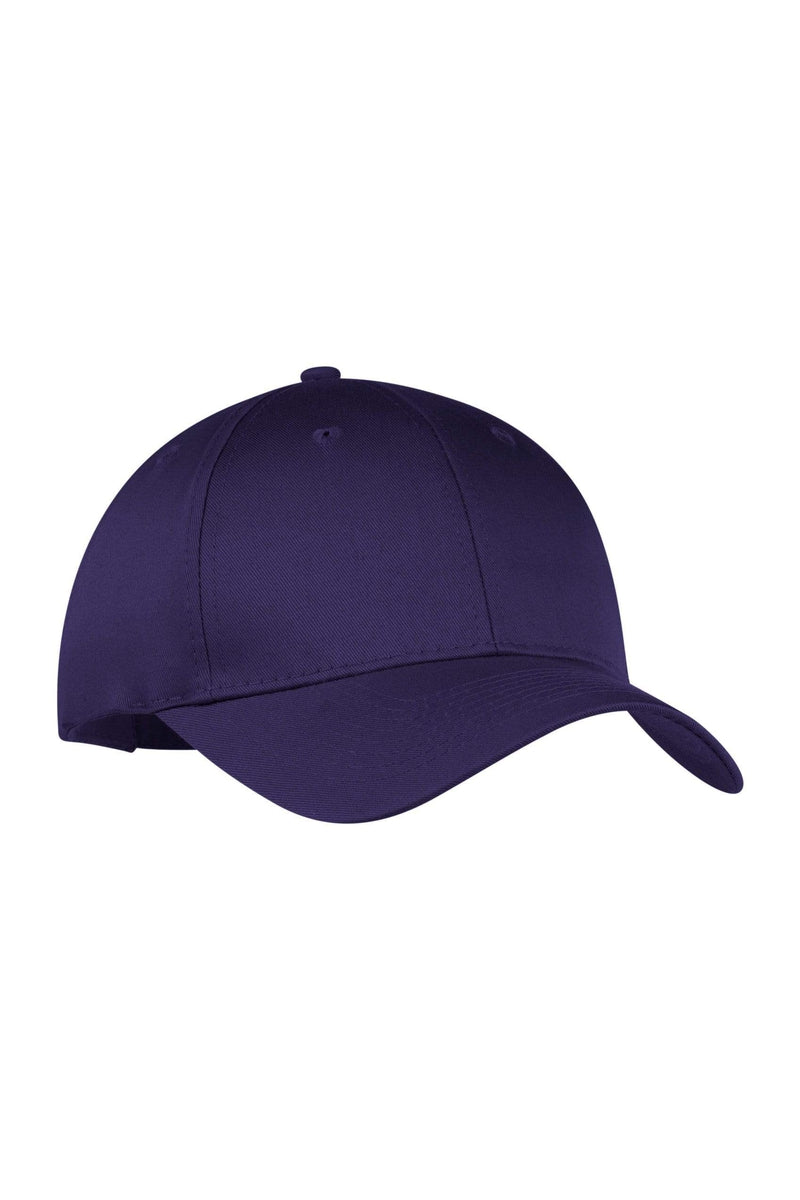 1638d95b8b4 Port   Company® - Six-Panel Twill Cap. CP80 - Bulkthreads.com