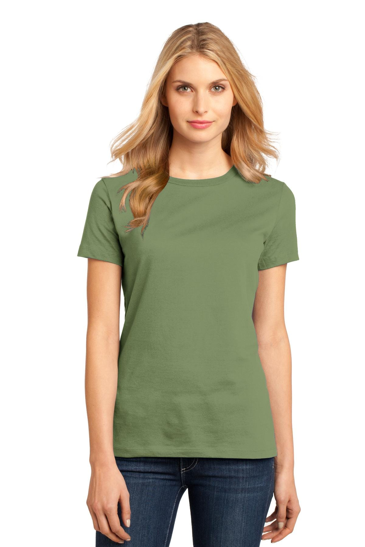 District ® Women's Perfect Weight ® Tee. DM104L, Basic Colors-Ladies-wholesale apparel