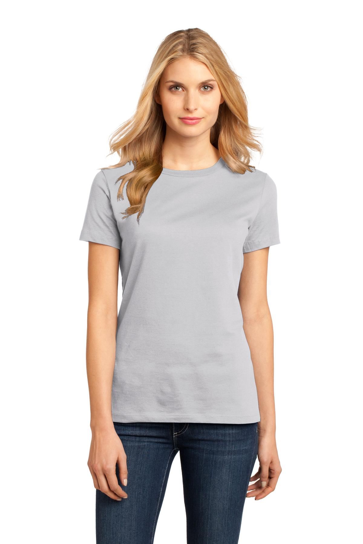 District ® Women's Perfect Weight ® Tee. DM104L, Traditional Colors-Ladies-wholesale apparel