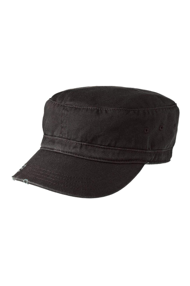 District® Distressed Military Hat. DT605-Caps-Bulkthreads.com, Wholesale T-Shirts and Tanks