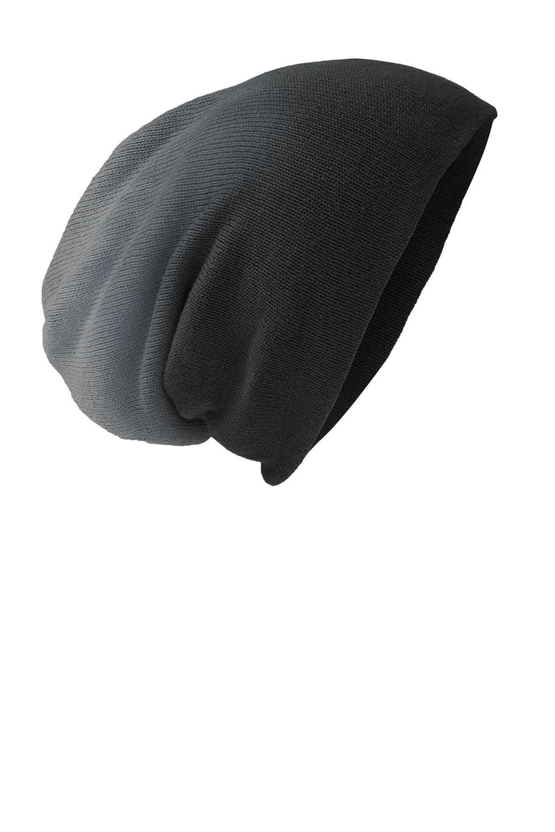 District® Slouch Beanie DT618-Caps-Bulkthreads.com, Wholesale T-Shirts and Tanks