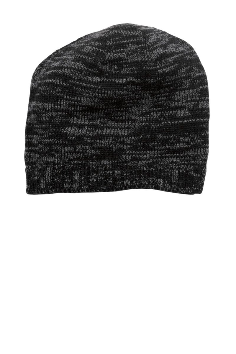 District® Spaced-Dyed Beanie DT620-Caps-Bulkthreads.com, Wholesale T-Shirts and Tanks
