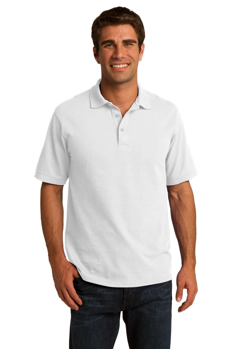 Port & Company ® Core Blend Pique Polo. KP155-Polos/Knits-wholesale apparel