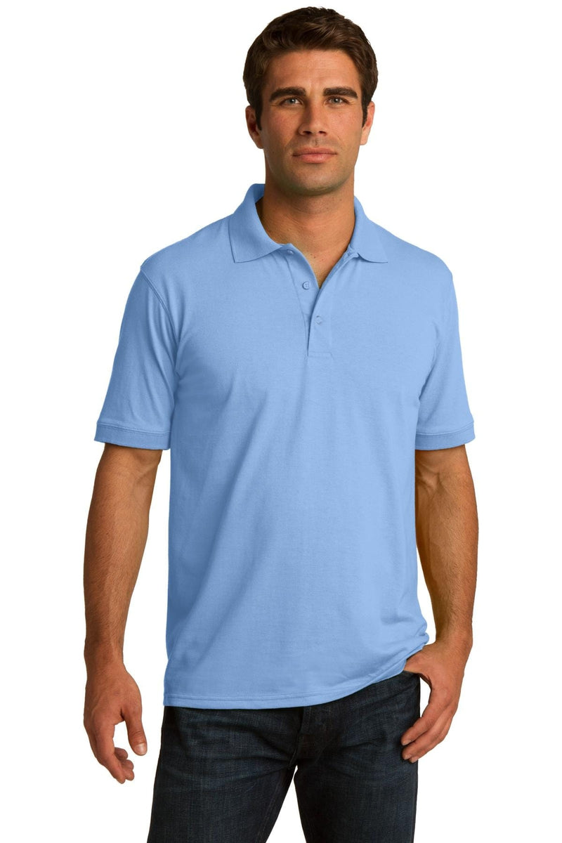 Port & Company ® Core Blend Jersey Knit Polo. KP55, Basic Colors-Polos/Knits-wholesale apparel